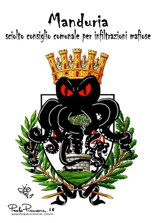 Manduria: consiglio comunale sciolto per infiltrazioni mafiose.